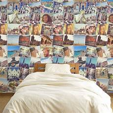 Photo Collage Wallpaper Make A Feature Wall With Your Photos