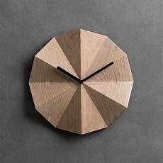 delta clock oak lawa design touch of modern