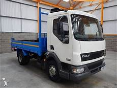 camion daf benne lf45 7 5 tonne steel tipper 2003
