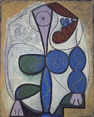 Pablo Picasso Painting Woman