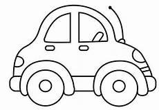 malvorlage auto einfach ausmalbilder f 252 r kinder malen