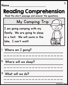 kindergarten reading comprehension passages 1st grade reading worksheets reading