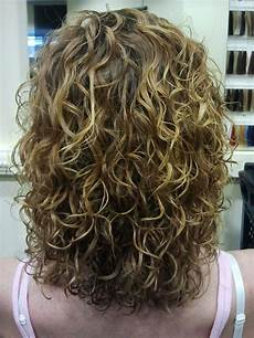 Hairstyles Perms Medium Length Hair big curls highlights medium length permed hairstyles
