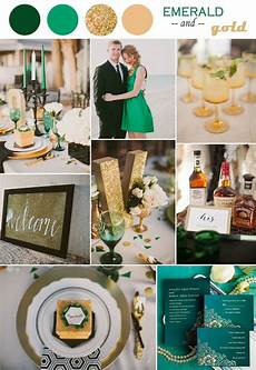 emerlad green and gold wedding ideas themed wedding in 2014 trending vintage emerald and gold chagne wedding