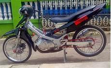 Satria 2 Tak Modif by Modifikasi Motor Suzuki Satria 2 Tak Thecitycyclist