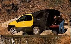 2001 pontiac aztek tent 2001 pontiac aztek term test review truck trend