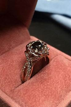 24 unique black diamond engagement rings oh so