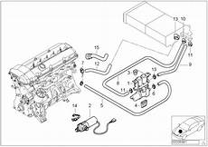 1999 bmw 540i engine diagram 64218387521 hose for radiator and engine return water cooling hoses genuine bmw part