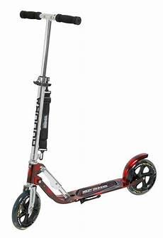 Hudora Scooter Big Wheel 205 - hudora scooter 187 big wheel mc 205 171 set mit tragegurt