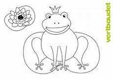 Frosch Malvorlagen Quest Malvorlage Frosch Vertbaudet Ein Familien