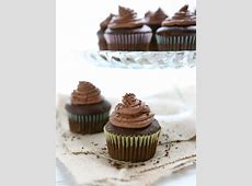 Eclectic Recipes Caramel Filled Chocolate Cupcakes with