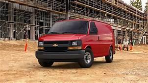 New 2017 Red Chevrolet Express Cargo Van 2500 Regular