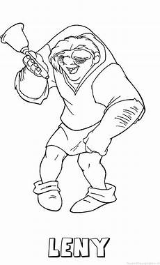 Quasimodo Malvorlagen Jepang Leny Klokkenluider Quasimodo Naam Kleurplaat