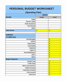 personal budget template doliquid