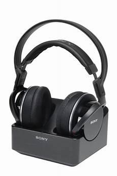 casque pour tv sans fil casque tv sans fil sony mdr rf855 noir 1371886 darty