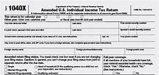 form 1040x community tax