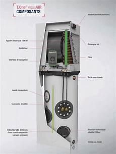 pompe 224 chaleur air air eau chaude sanitaire t one aquaair aldes
