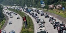Verkehr A7 Bayern - a1 a7 lange staus auf den autobahnen in schleswig holstein
