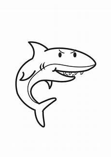 Malvorlage Hai Einfach Malvorlage Hai Kostenlose Ausmalbilder Zum Ausdrucken