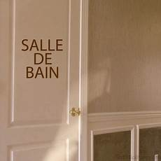 Stickers Porte Salle De Bain Stickhappy