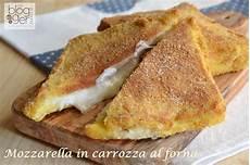 mozzarella in carrozza forno mozzarella in carrozza al forno