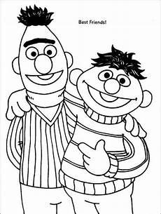 sesame bert and ernie are best friend in sesame