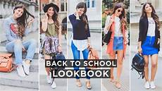 look school back to school lookbook