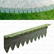 bordurette pelouse en plastique 6x50cm bordure