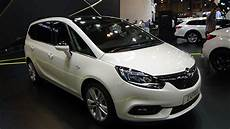 opel zafira 2018 2018 opel zafira excellence my18 1 4t 140 exterior and
