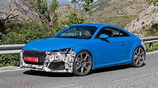 new audi tt rs plus 2019 price and review 2019 audi tt rs facelift spied on vacation in southern europe