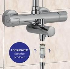 risparmio acqua doccia ecoshower risparmio acqua per doccia
