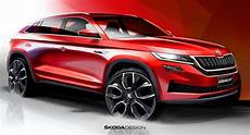 Skoda Confirms China Only Kodiaq Gt Coupe Crossover With A
