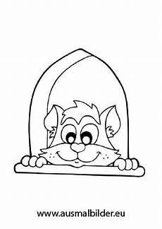 Ausmalbilder Junge Katzen Ausmalbild Neugierige Katze Zum Ausmalen Ausmalbilder
