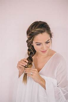 twisted side braid tutorial braided hairstyles cute