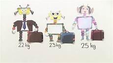 Gewichte Gramm Kilogramm Und Tonne Lernen