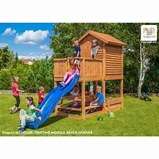 Aire De Jeux En Bois Pour Enfants My House Free Time