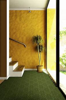 possible idea for the basement yellow walls with green carpet with images colour