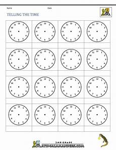 free printable telling time worksheets 3rd grade 3687 time worksheet o clock quarter and half past