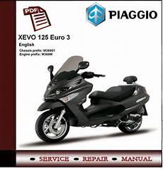 piaggio xevo 125 3 workshop service manual tradebit