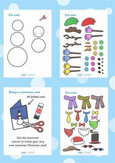 winter worksheets twinkl 20097 twinkl resources gt gt snowman card designing worksheets gt gt printable resources for