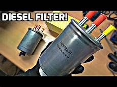ford mondeo mk3 diesel filter replacement how to