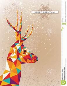 merry christmas colorful reindeer shape image 33074590