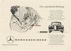 ihr guter auf allen straßen werbung anzeige konvolut 9 x mercedes automobile 1954