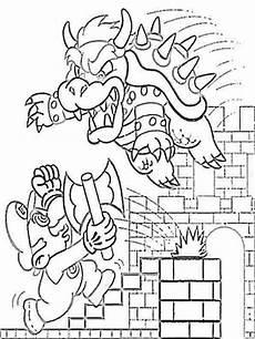 Mario Bowser Malvorlagen Mario Bowser Coloring Pages Free Printable Mario Bowser