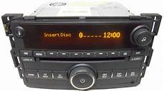 saturn ion 2006 2007 factory stereo 6 disc changer cd
