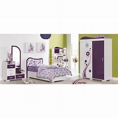 chambre enfant fille violette compl 232 te 4 pi 232 ces vision