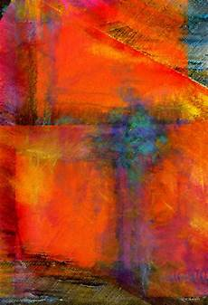 orange abstract painting abstract digital painting