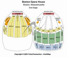 boston opera house seating plan boston opera house seating chart tickets events and
