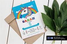 Unicorn Malvorlagen Kostenlos Font Unicorn Birthday Invitation Invitation Templates