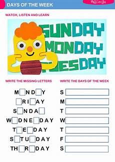 free worksheets days of the week 18254 days of the week worksheet